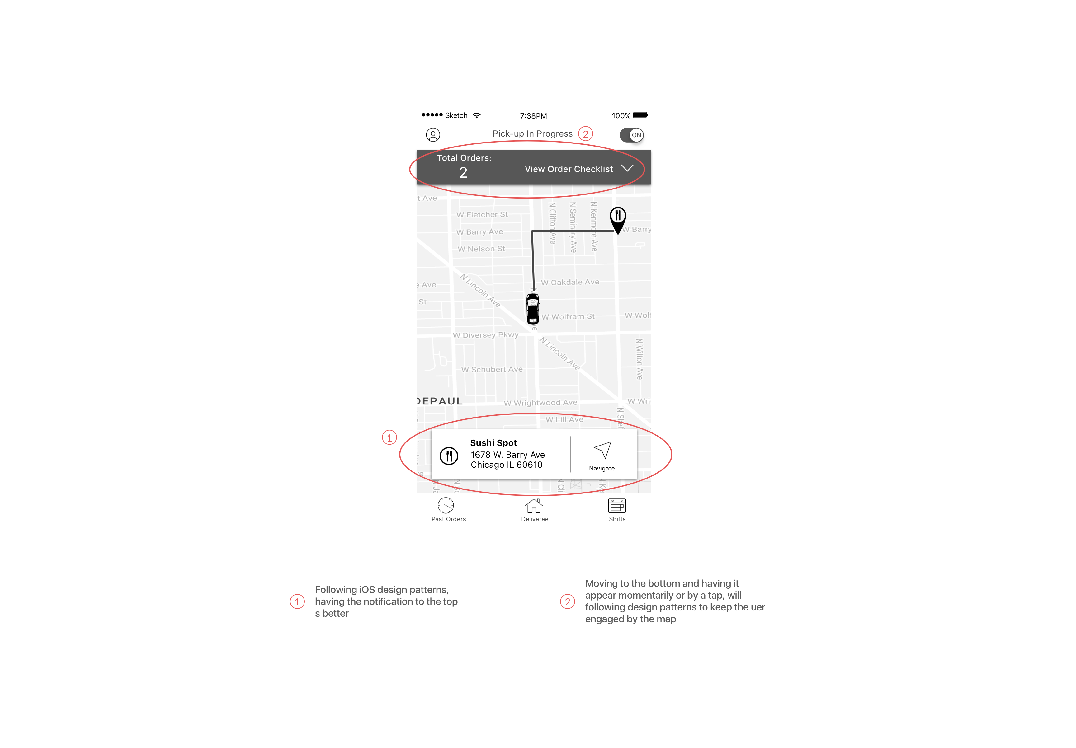Ux Wireframes – Driver#1.2